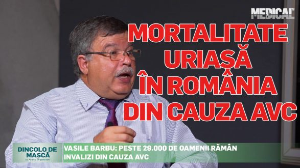 MORTALITATE URIAȘĂ ÎN ROMÂNIA DIN CAUZA AVC