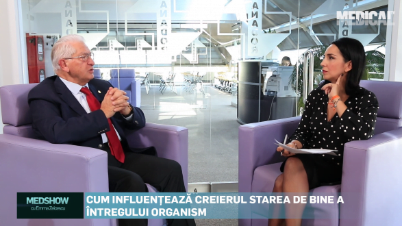 MedShow cu Ema Zeicescu si Dr.Vlad Ciurea